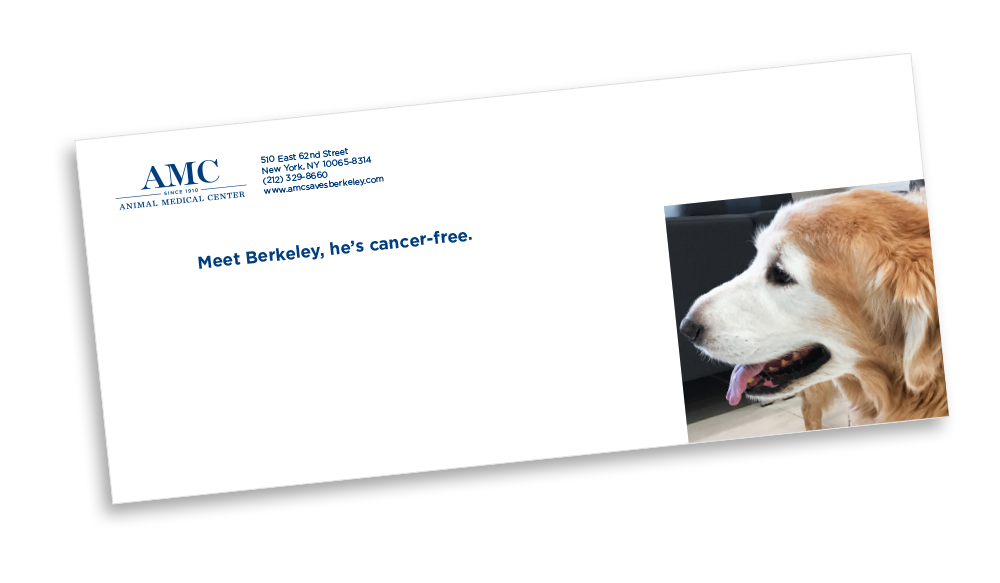 Animal Medical Center Envelope